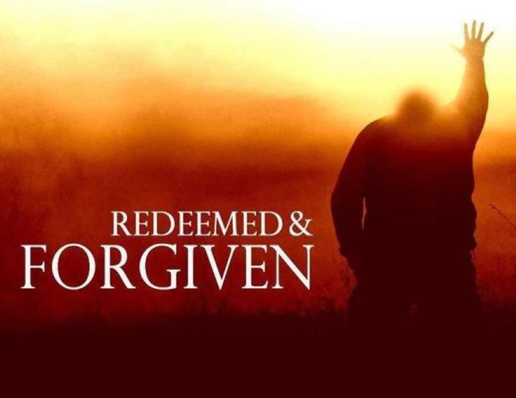 redeemed and forgiven picture